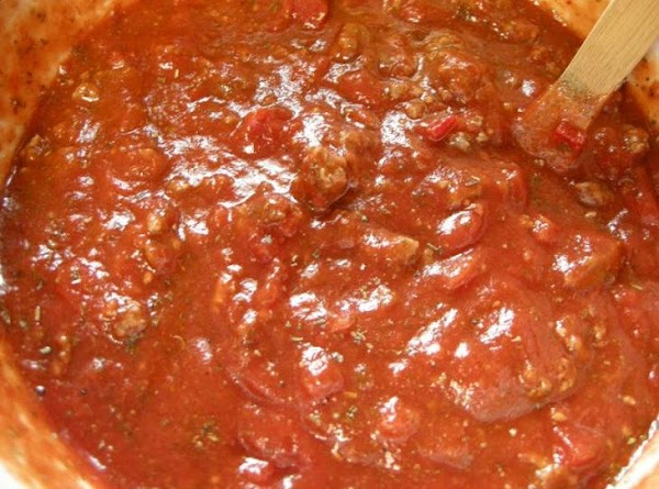 Original Family Spaghetti Sauce    Homemade Recipe