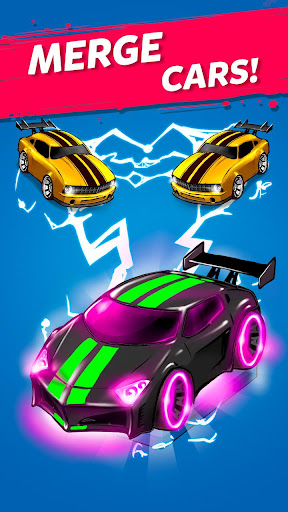 Merge Battle Car: Best Idle Clicker Tycoon game  captures d'écran 1