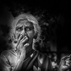 She ... by Pritam Sharma - People Portraits of Women ( face, expression, headshot, heads, portrait, expressions, eyes,  )