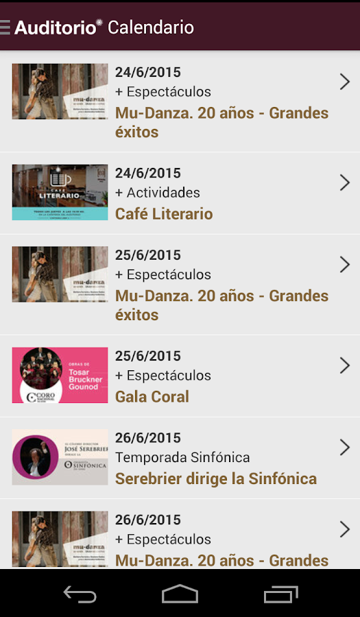 Auditorio Nacional del Sodre- screenshot