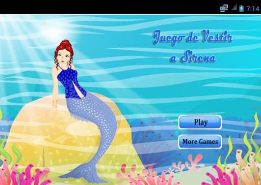 Juegos de Vestir Sirenas