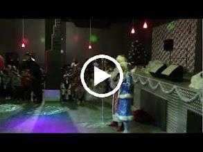 Video: Знакомство детей  с Дедом Морозом.