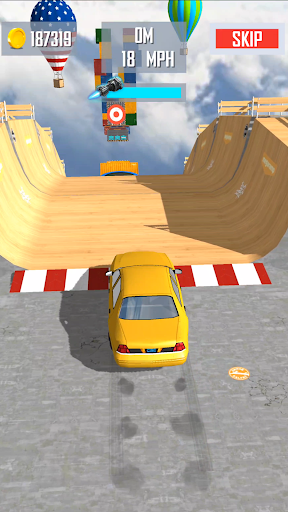 Mega Ramp Car Jumping  screenshots 1