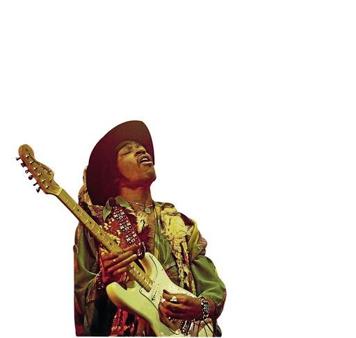 Jimi Hendrix had to learn his chops without the benefit of an app. Picture: DAVID REDFERN/REDFERNS