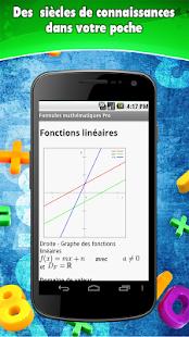 Fórmulas Matemáticas- screenshot thumbnail