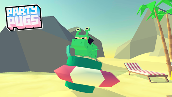Party Pugs: Beach Puzzle GO!- screenshot thumbnail