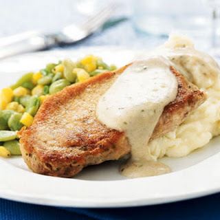 Pork Chops with Country Gravy.