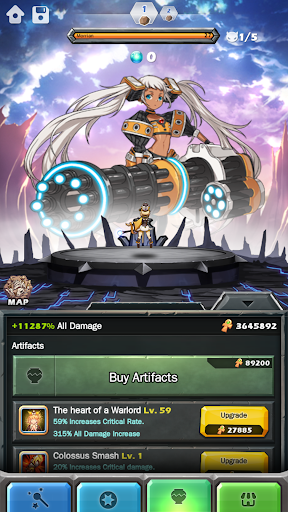 Monster Warlord screenshot 18