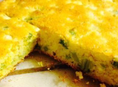 Broccoli Cheese Cornbread Recipe