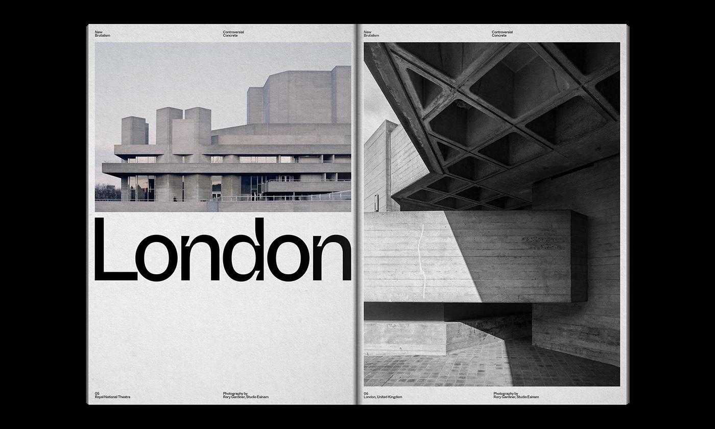 Editorial Design : New Brutalism Controversial Concrete 4