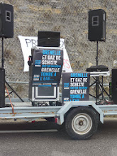 Photo: Manif Stop Gaz de Schiste - Villeneuve de Berg 2011 - Licence CC (BY-NC-ND) Jasmine Tourre
