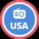 アメリカのラジオ:無料のFMラジオ