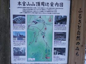 本宮山山頂周辺案内図