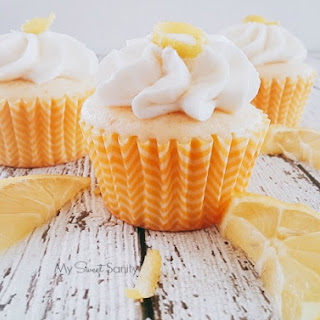 Meyer Lemon Cupcakes.