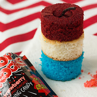 Firecracker Cupcakes.