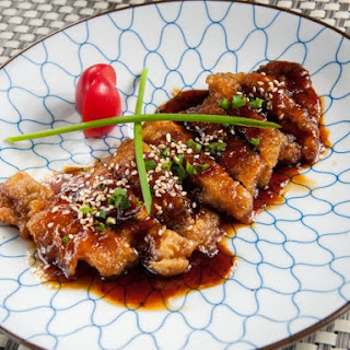 Deep Fried Teriyaki Chicken