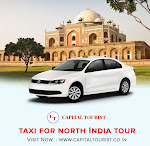 Taxi for north india Tour