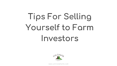 Five tips for selling yourself to investors