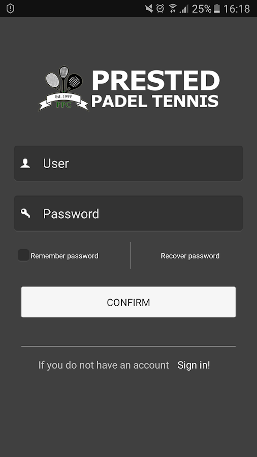 Prested Padel Tennis- screenshot