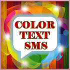 Color text sms+whatsapp sms icon