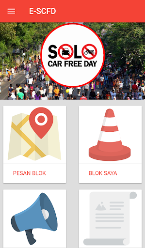 Perijinan Elektronik Solo Car Free Day