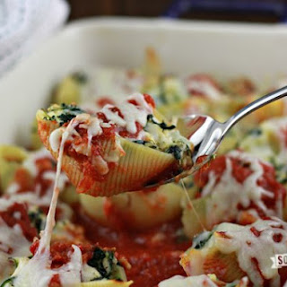 Cream Cheese Chicken Stuffed Shells.