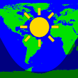 Daylight World Map