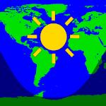 Daylight World Map Icon