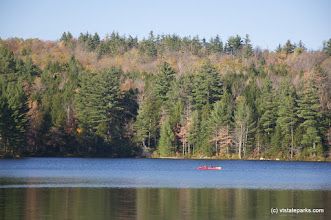 Photo: Kayaking on Lowell Lake State Park by Jared Lennow