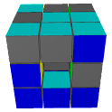 3D Sliding Cube Puzzle Demo icon