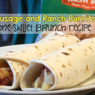 Potato, Sausage and Ranch Burritos {and a giveaway}.