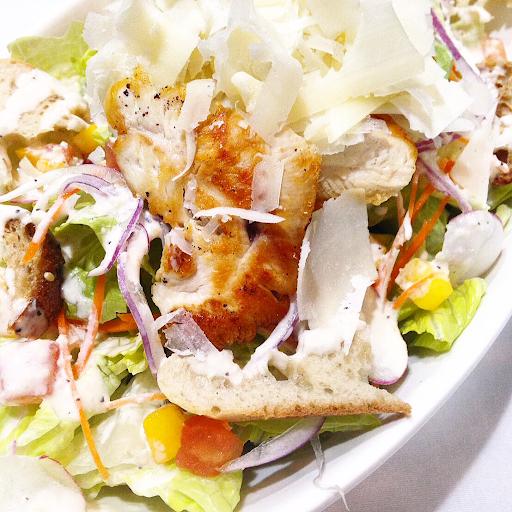 "Free Range ""Jidori"" Chicken Caesar Salad"