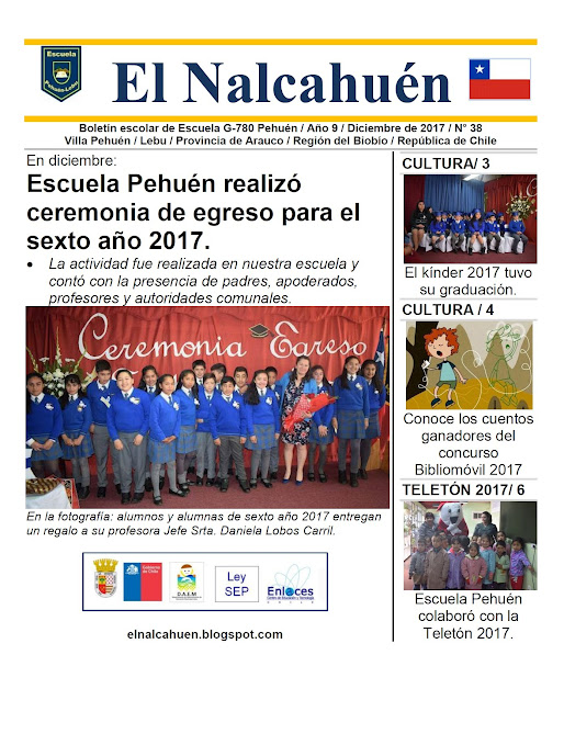 El Nalcahuén IMPRESO N° 38 (Diciembre de 2017)