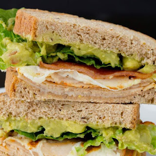 Chicken Guacamole Club Sandwich Recipe