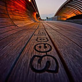 Sea Level Bridge by Sim Kim Seong - Buildings & Architecture Bridges & Suspended Structures
