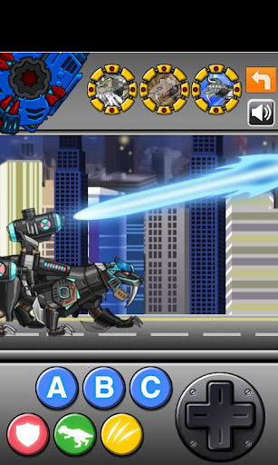 Smilodon Black - Transform! Dino Robot 1.0.0 screenshots 1