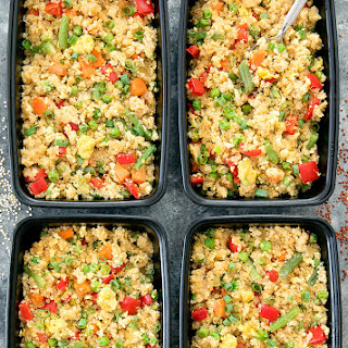 Quinoa Fried Rice Meal Prep Recipe