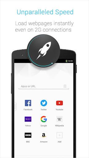 玩免費個人化APP|下載APUS Browser Turbo-Save Data app不用錢|硬是要APP