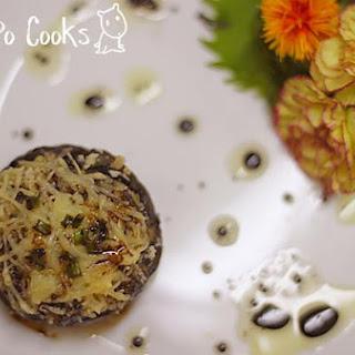 Qbc Stuffed Portobello Mushrooms.