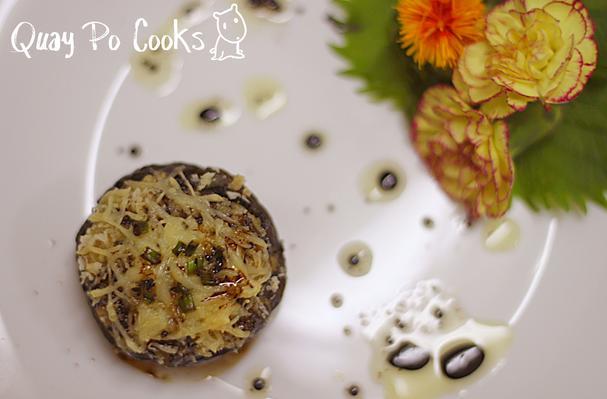 Qbc Stuffed Portobello Mushrooms