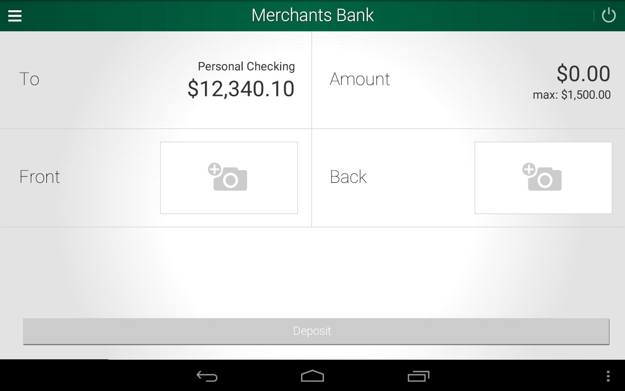 Merchants Bank - screenshot