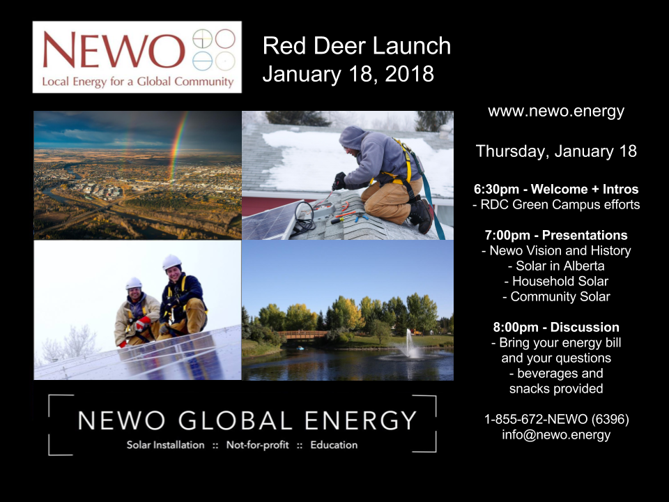 Newo Red Deer Launch
