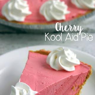 Cherry Kool Aid Pie (No Bake)