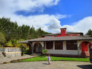 Photo: Rancho Don Carlos, near Quito airport - our last night