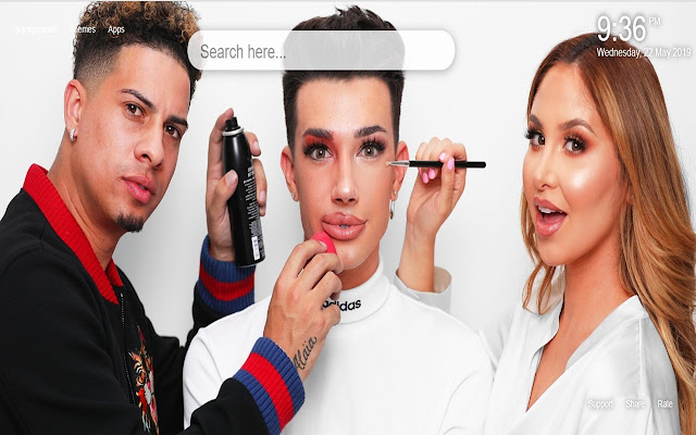 James Charles HD Wallpapers New Tab