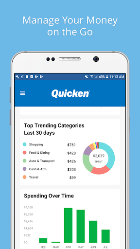 Quicken  screenshots 1