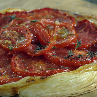 James Martin's Heritage Tomato Tart With Blow Torched Tomato Salad