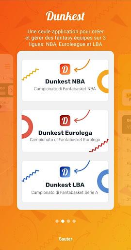 Télécharger Dunkest - Fantasy Basketball NBA et Euroligue apk mod screenshots 3