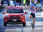 """🎥 Ritwinnaar in de Giro overmand door emoties: """"Baby op komst in januari en ik heb nog geen job voor volgend jaar"""""""