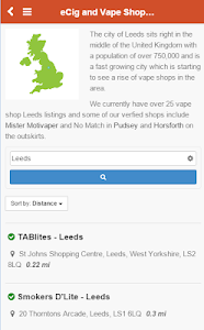 eCig Directory UK screenshot 1